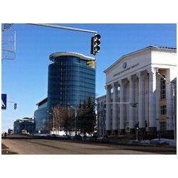 г. Уфа, Ул. Заки Валиди, БГУ и высотное административное здание